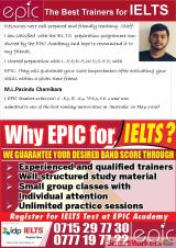 IELTS prep with EPIC Academy