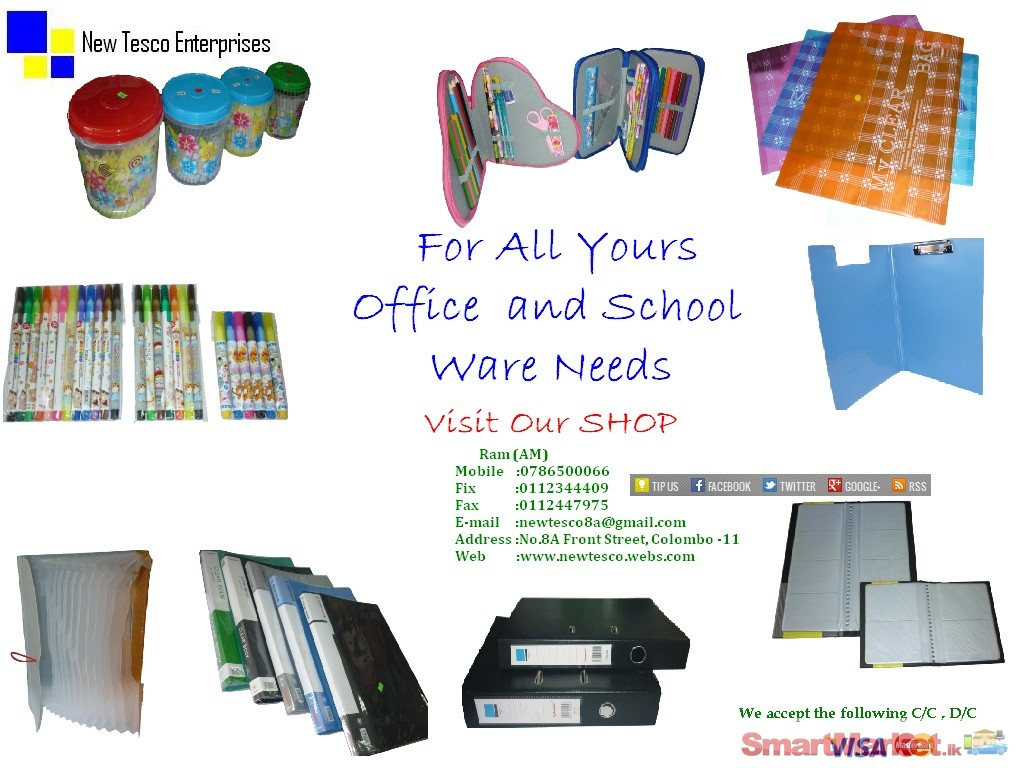 All Kinds Of Office & School ware