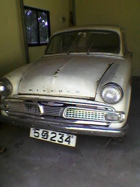 1956 Hillman Minx One Owner Lady Owned And Driven Car Used In Uk By