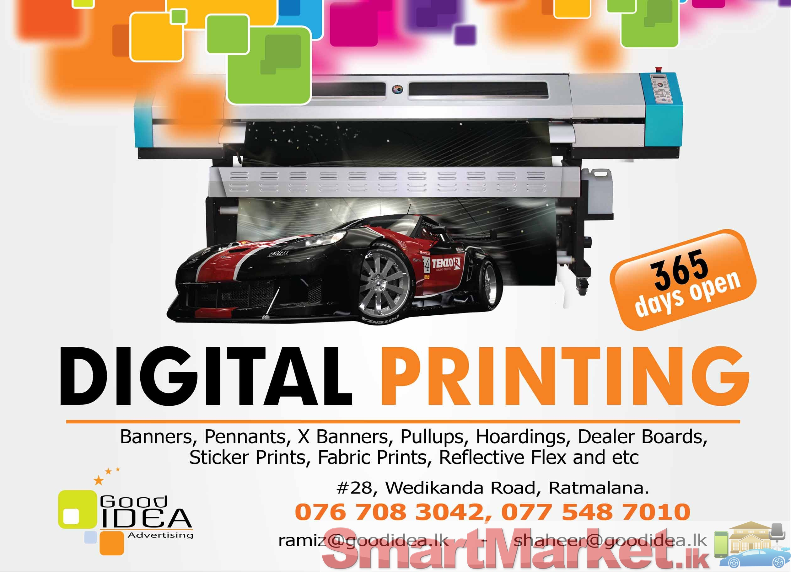 Digital Printing Services : Digital printing offered in colombo smartmarket lk