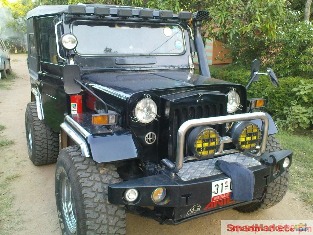 Jeep For Sale Sri Lanka: Mitsubishi 4DR 5 Jeep For Sale In Kurunegala