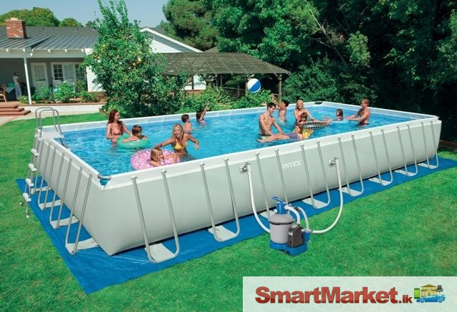 Above ground swimming pools starting at rs 60 000 for for Cheap above ground pools for sale