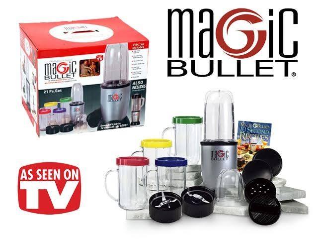 magic bullet blender instruction manual