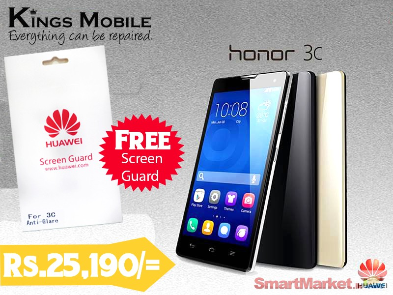 Huawei Honor 3c with 2 Years Singer Warranty For Sale in