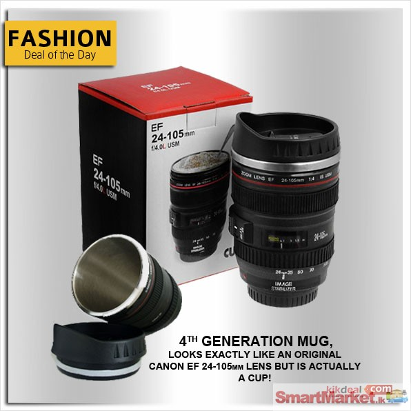 Canon Eos Lens Coffee Mug For Sale In Colombo