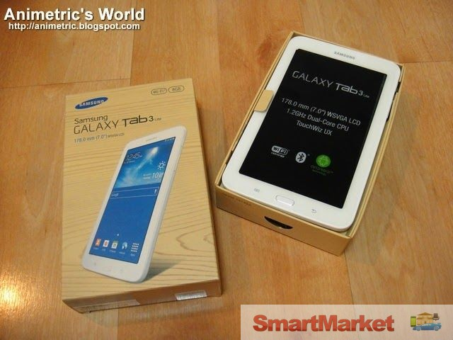 brand new samsung galaxy tab 3 lite wi fi. Black Bedroom Furniture Sets. Home Design Ideas