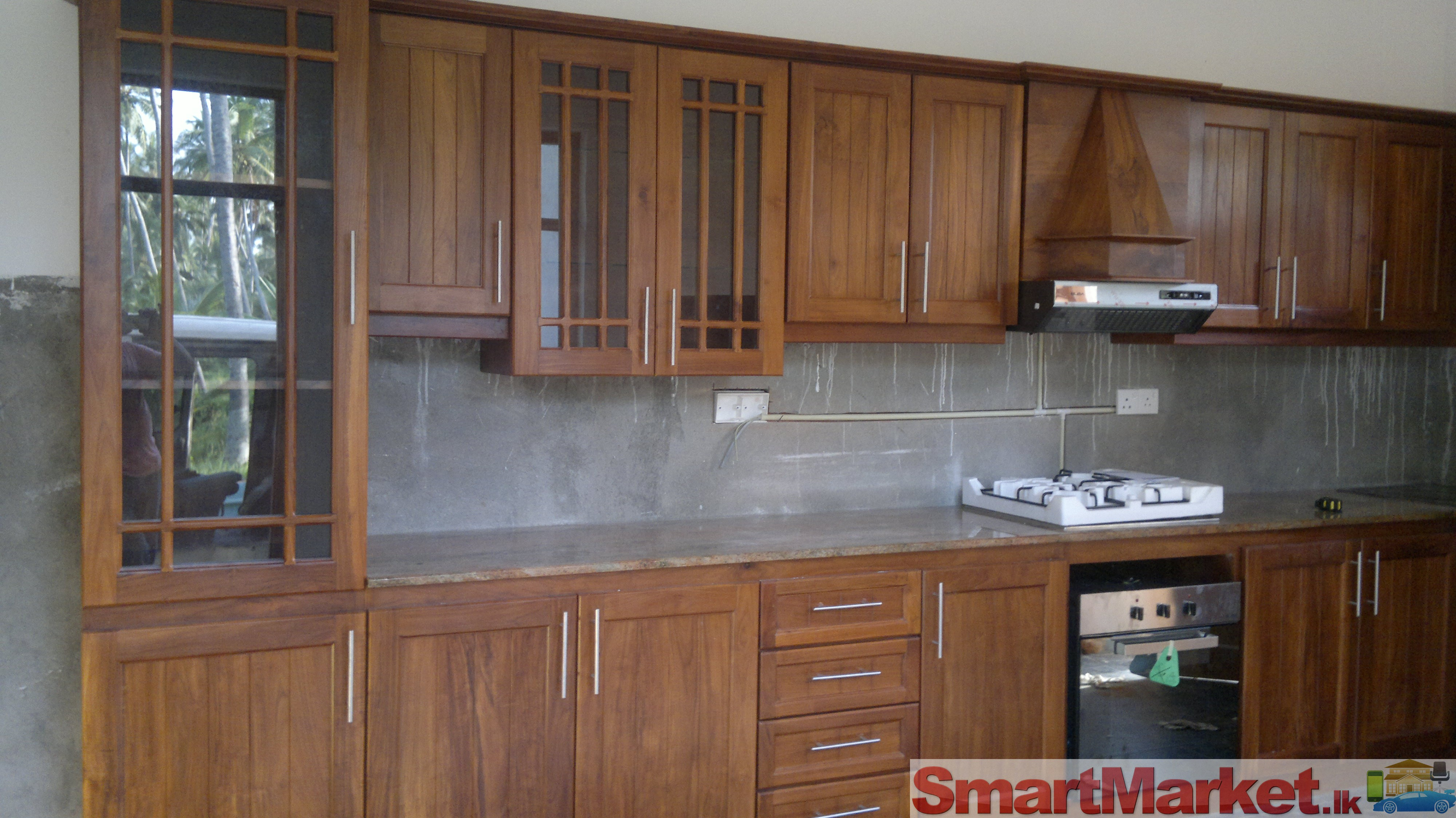 Pantry cupboards for sale in gampaha for Kitchen cupboard designs