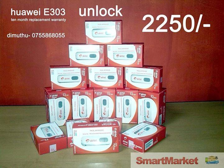 Airtel Branded Unlock Huawei E303 Dongle