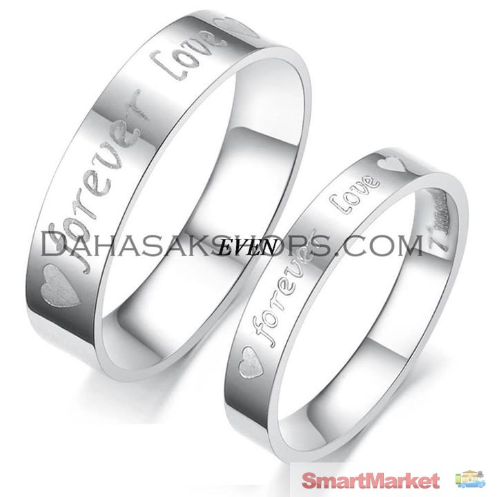 Forever Love Promise Couple Ring
