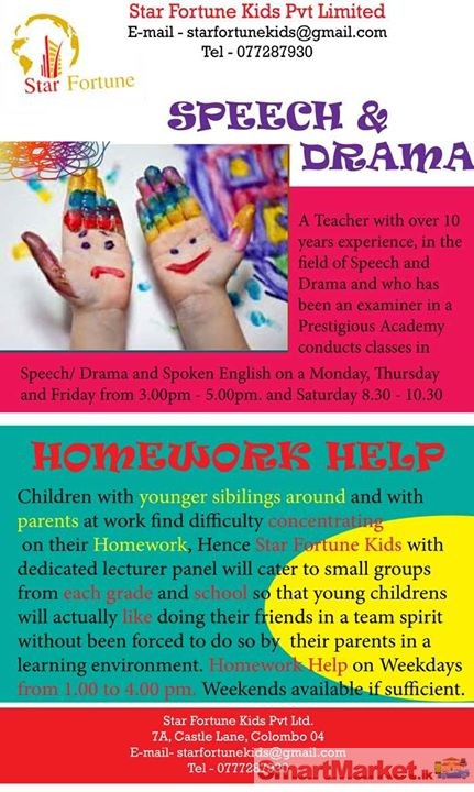 Help homework drama