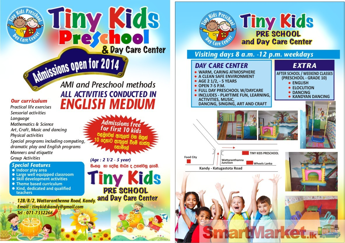 Tiny Kids Preschool For In Kandy
