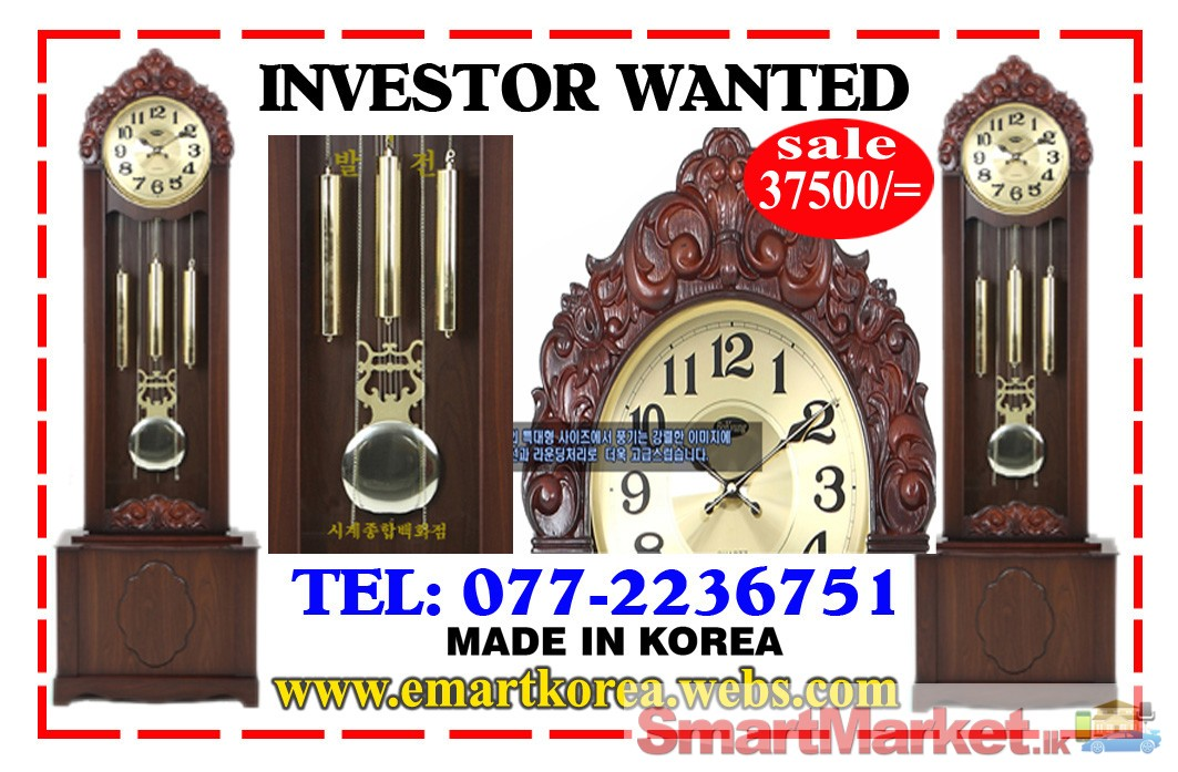 grand father clock for sale in colombo