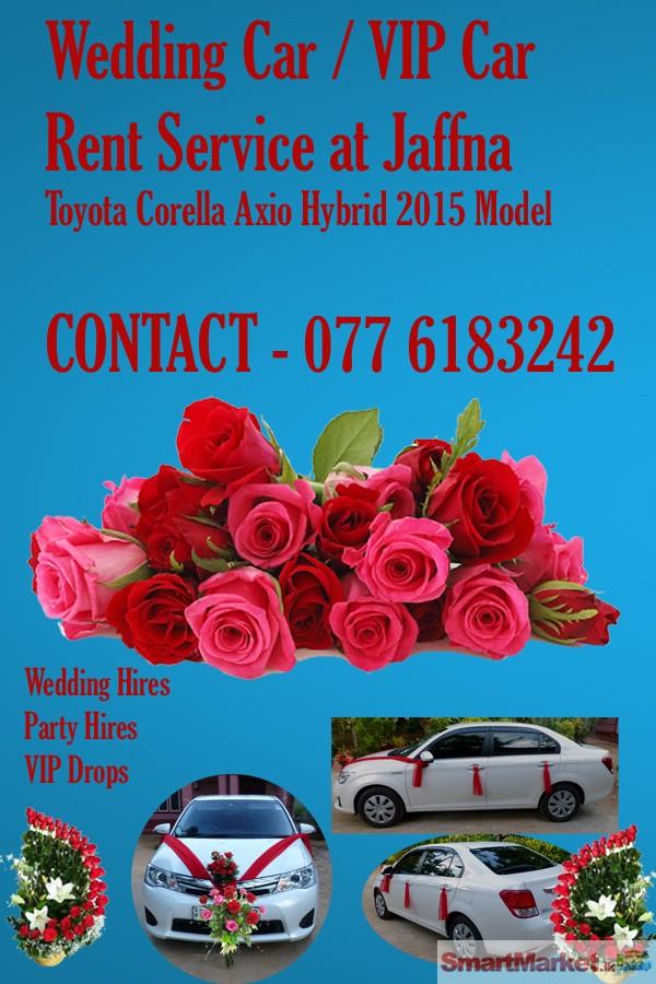 Wedding car rent service