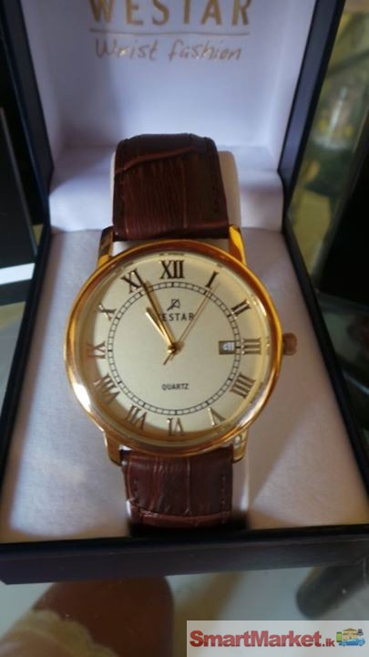 Brand New Original Westar Men'S Watch Bought From Dubai With