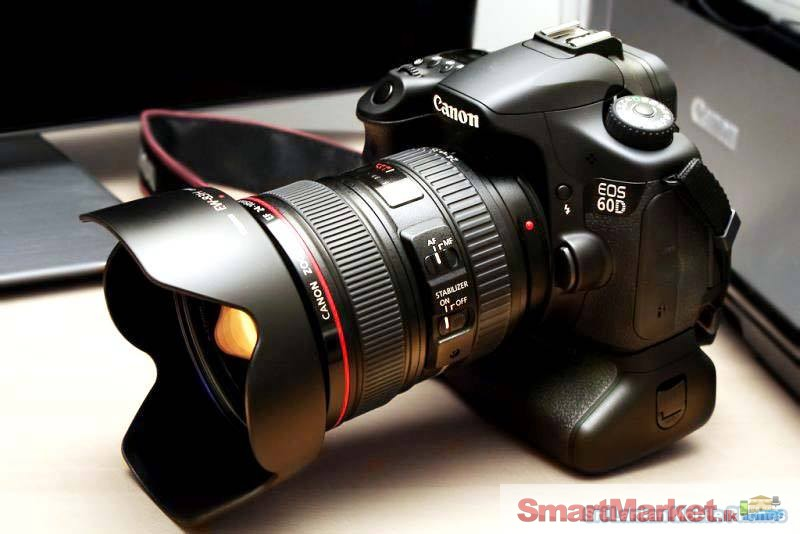 Canon Eos 60d With 18 135mm Lens For Sale In Gampaha Smartmarketlk