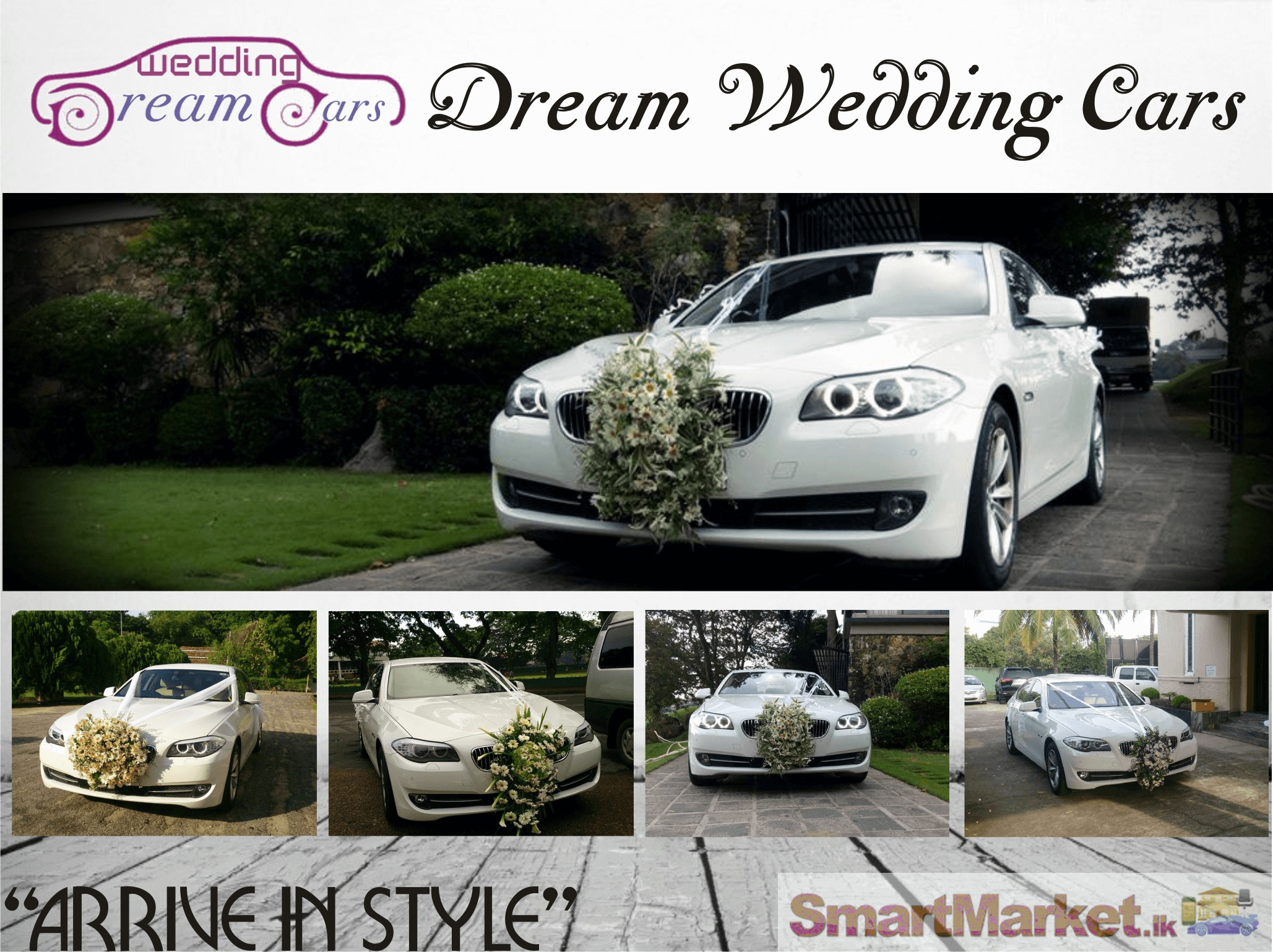Bmw 520 Luxury Car For Wedding Hire
