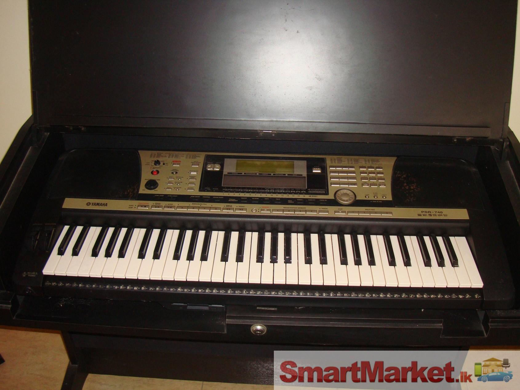 yamaha psr 740 keyboard. Black Bedroom Furniture Sets. Home Design Ideas