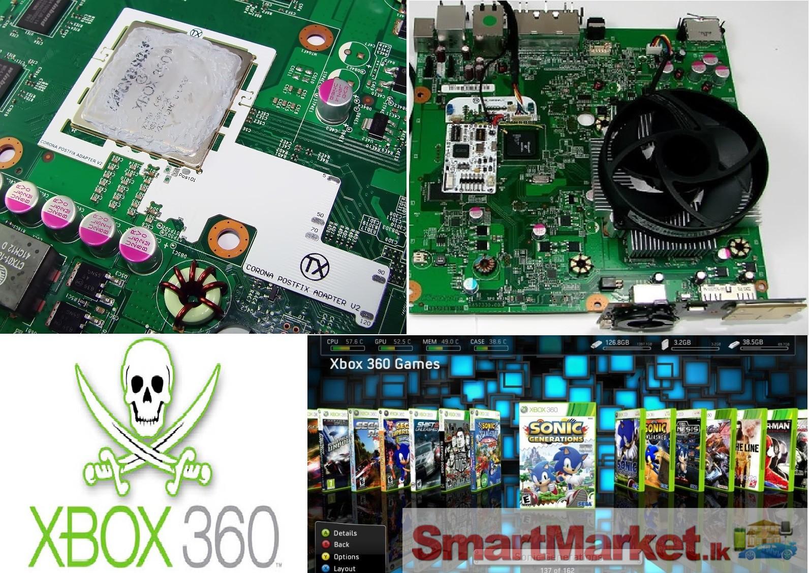 XBOX 360 MOD & REPAIR JTAG,RGH2,LTU2