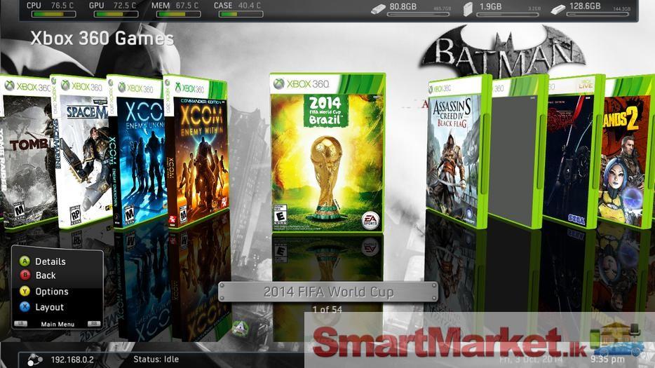 RGH2 JTAG XBOX 360 Games Backups Xbox Jtag Fuse on
