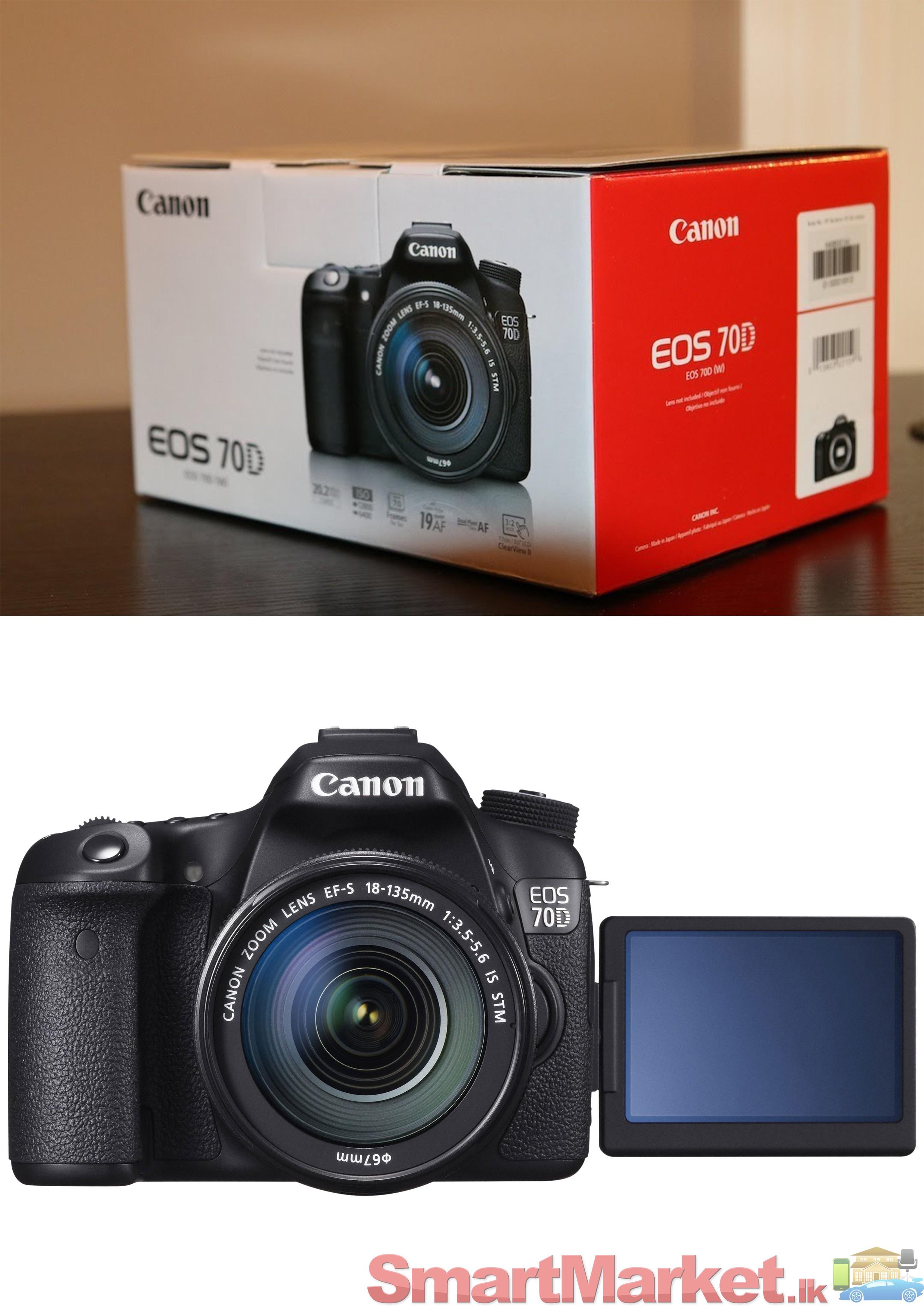 Canon 70d release date in Brisbane