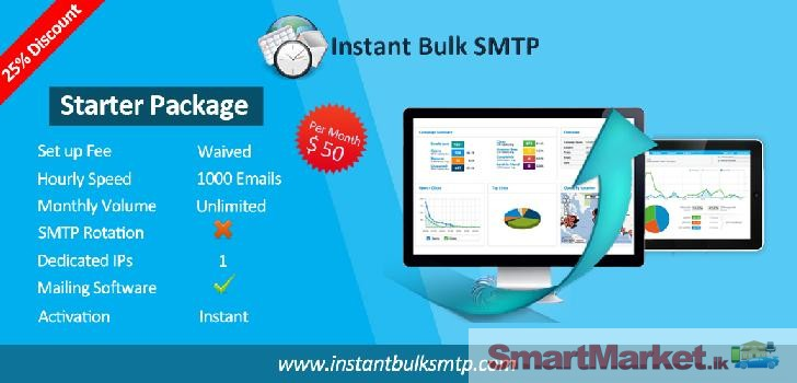 Our bulk email sending solutions provide our clients with a