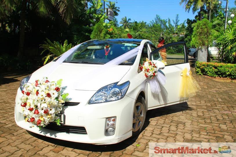 Aerial port wedding
