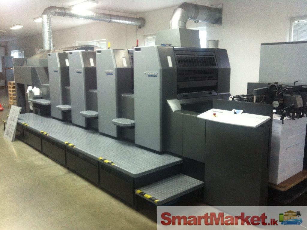 Heidelberg Remarketed Machines