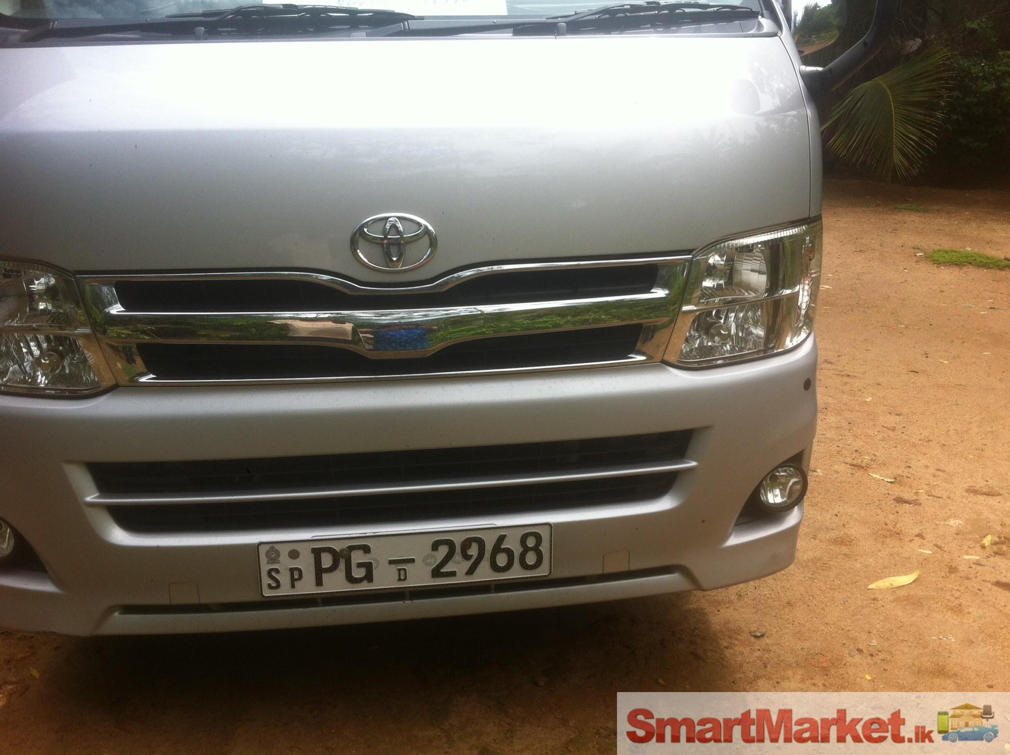 Van for sale toyota kdh 201 2013