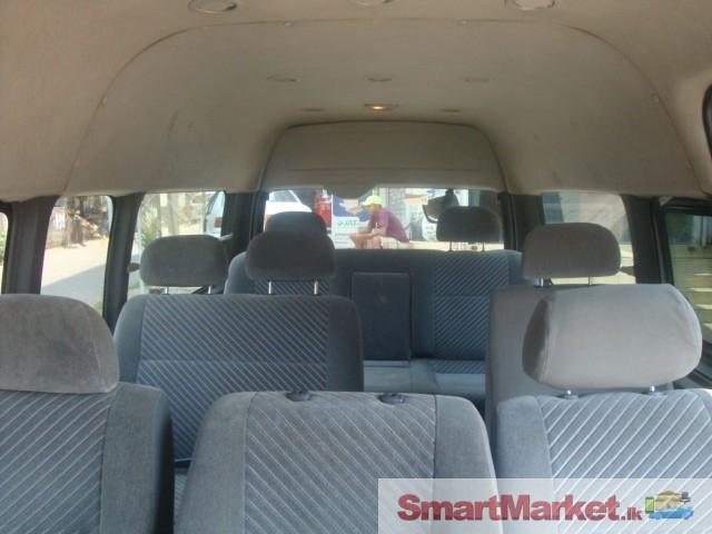 Toyota kdh 220 van for rent Offered in Colombo   Smartmarket lk
