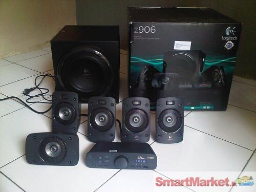 Logitech Z906 5 1 Surroud Speakers
