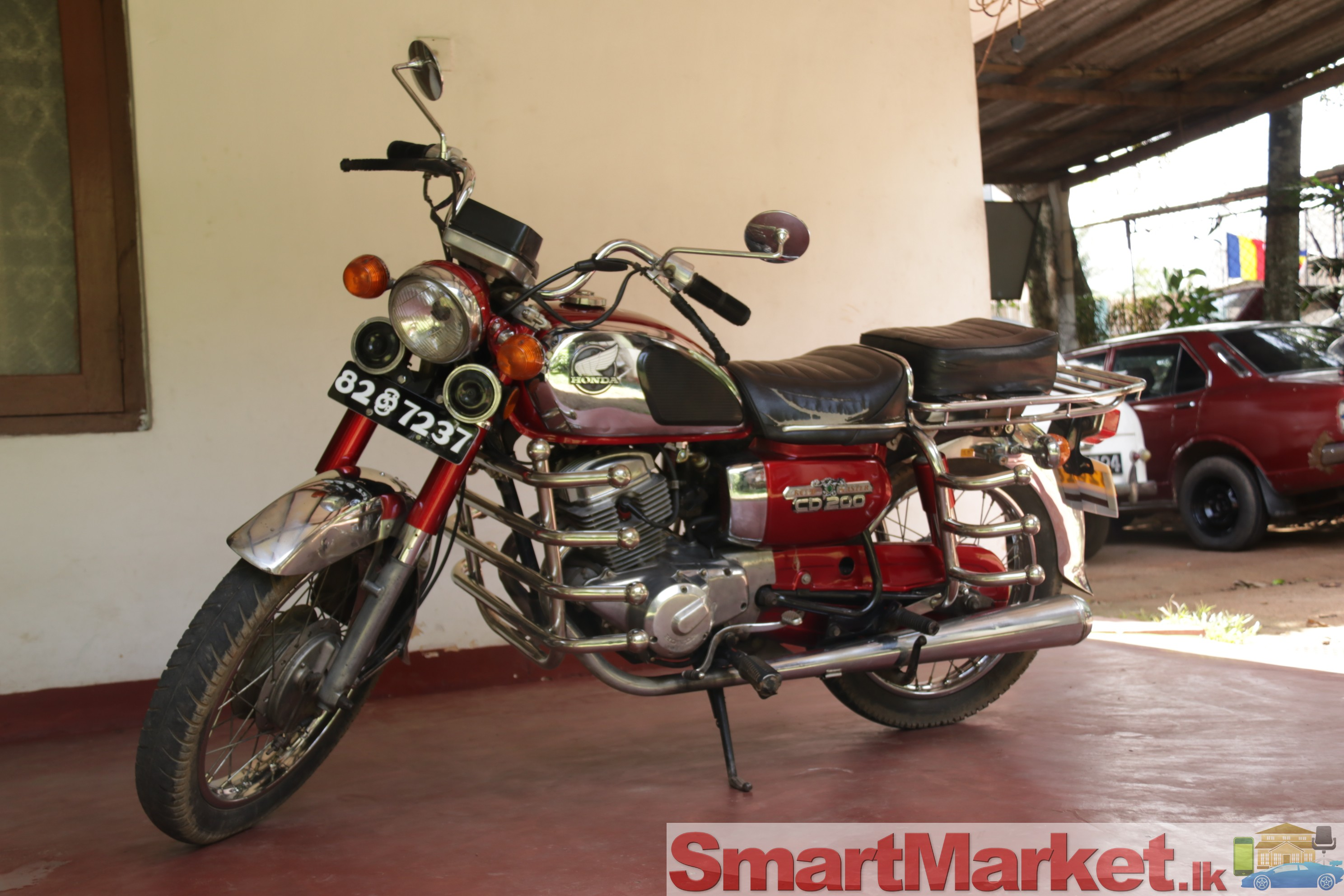 Honda Roadmaster CD 200