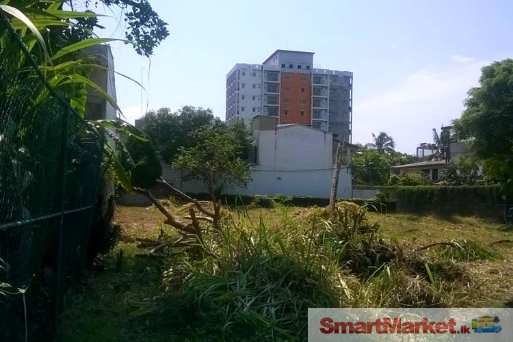 Valuable land for sale in Mount Lavinia.