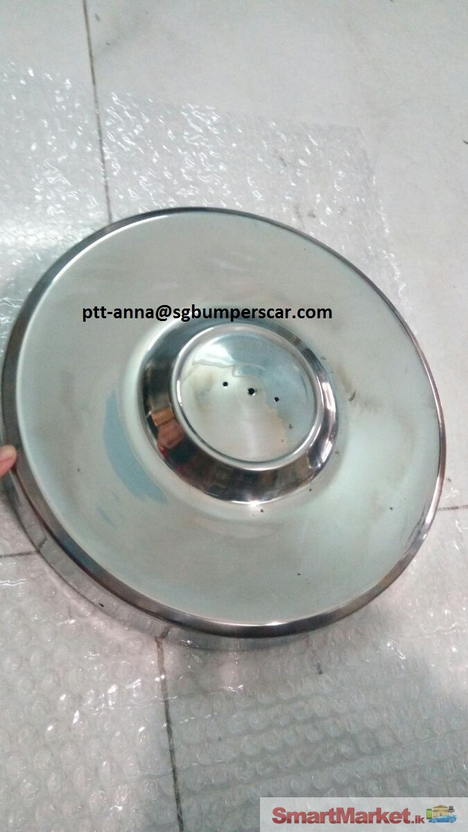 Open Stainless Steel Hubcap