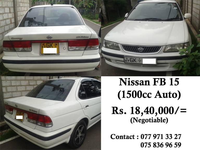 NISSAN FB 15(1500cc) FOR SALE ~