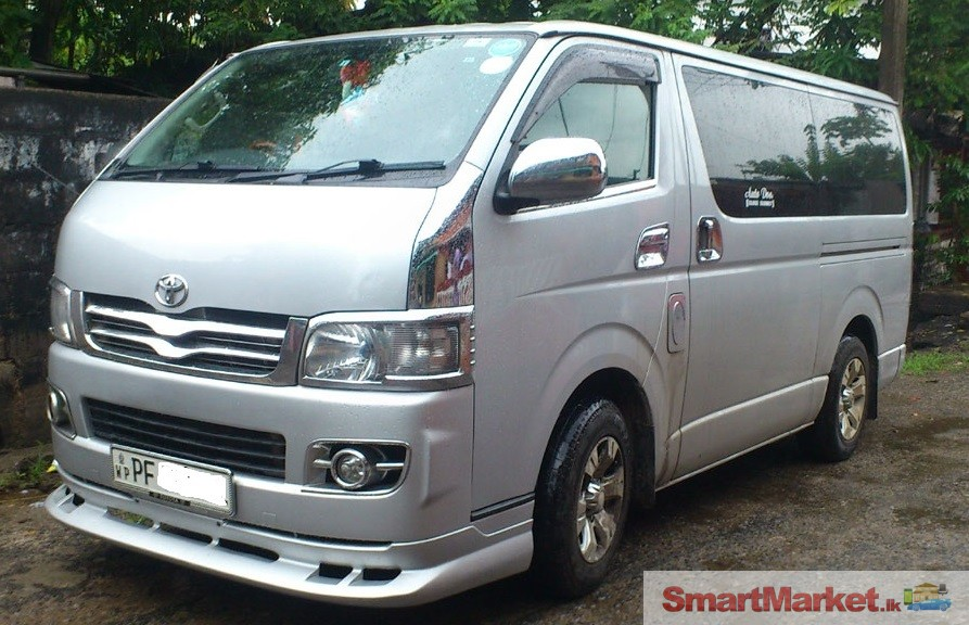 KDH van for rent and Hire