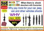 SAVE YOUR MONEY IN SHOCKS