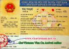 Get a Visa to Vietnam only 12USD/people