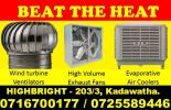 Wind turbine ventilator, exhaust fans,Air Coolers Srilanka, Evaporative air coolers srilanka, Evaporative Air Coolers, Industrial Air Cooler, Industrial Evaporative Air Cooler