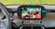 Fiat 500X Tempar Car audio radio android GPS navigation camera