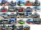 Latest 29 seat Japanese AC Buses with driver and fuel for Rs:8500/= per day